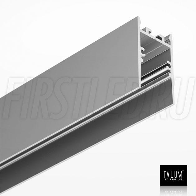 Накладной / подвесной алюминиевый профиль TALUM HIDE WP25.42