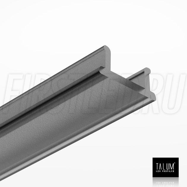 Черный матовый рассеиватель для светодиодного профиля TALUM W7.9