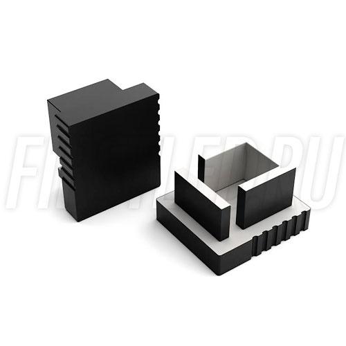 Заглушки черные глухие для светодиодного профиля TALUM W7.9 BLACK