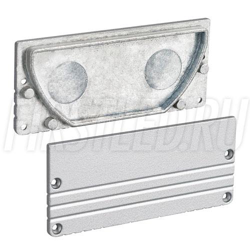 Заглушки для светодиодного профиля TALUM W80.35