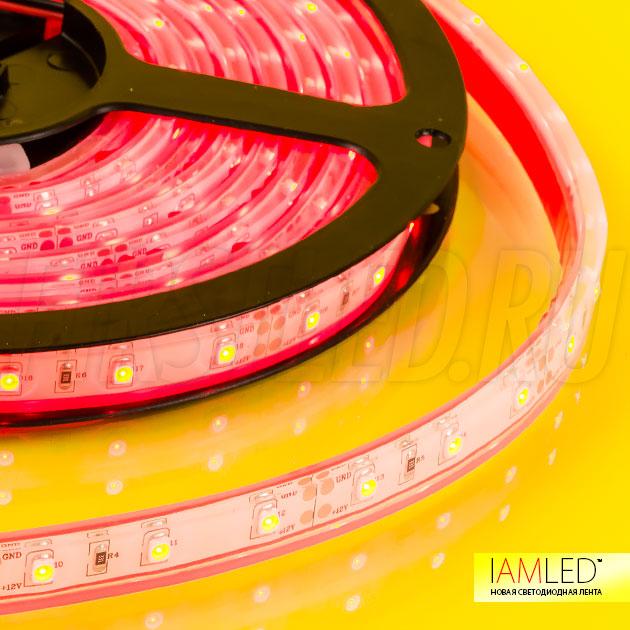 Ударопрочная герметичная светодиодная лента IAMLED MONO 60 IP68
