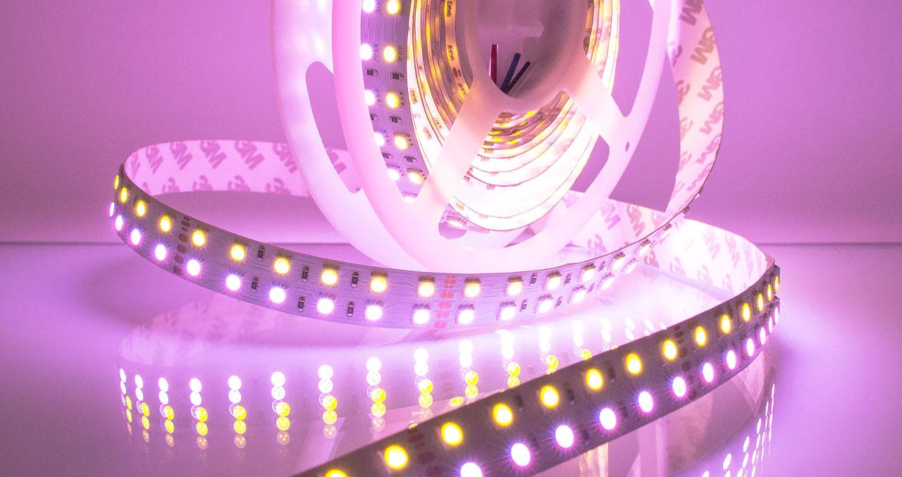 RGB + WHITE светодиодная лента