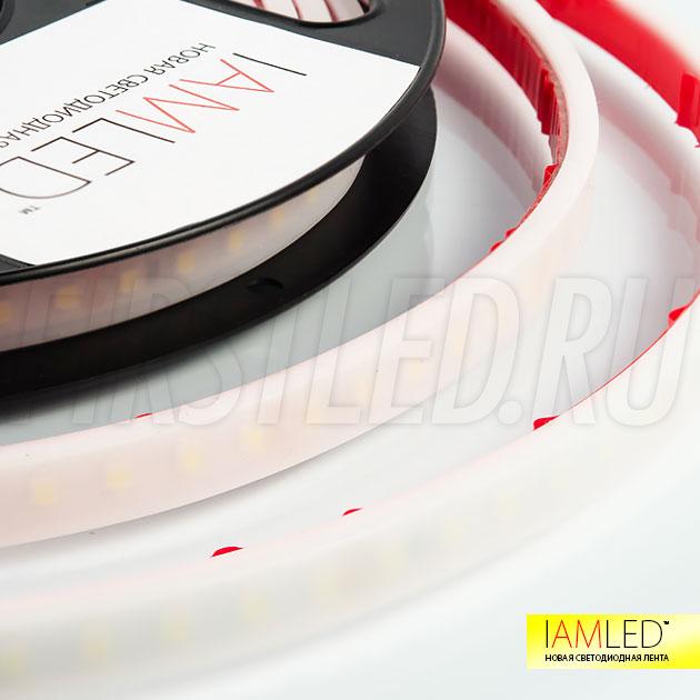 Светодиодная лента не требующая дополнительно профиля с матовым рассеивателем — IAMLED MATTED MONO