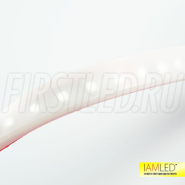 Компактные размеры IAMLED MATTED MONO и усиленное клейкое основание 3M позволяет разместить ленту в маленьких нишах