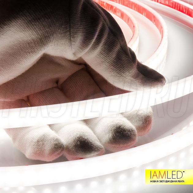 Матовая светодиодная лента IAMLED MATTED MONO — яркость ленты составляет 840 Люмен на метр