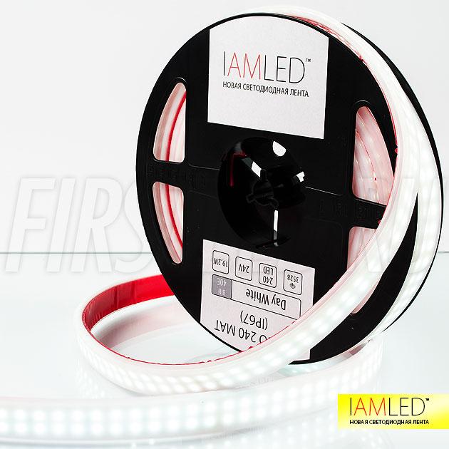 Отличное применение для матовой ленты IAMLED MATTED SUPERB — подсветка глянцевых потолков