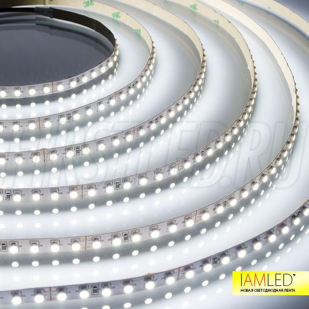 Равномерное распределение света, 120 светодиодов типа SMD 3528 на 1 метр — это IAMLED MONO 120