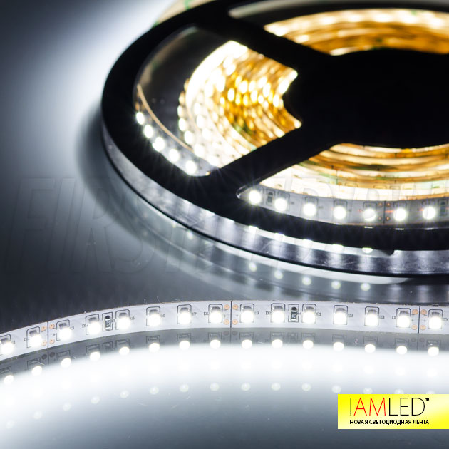Малые размеры светодиодной ленты IAMLED MONO 120 позволяют установить ее в любое пространство