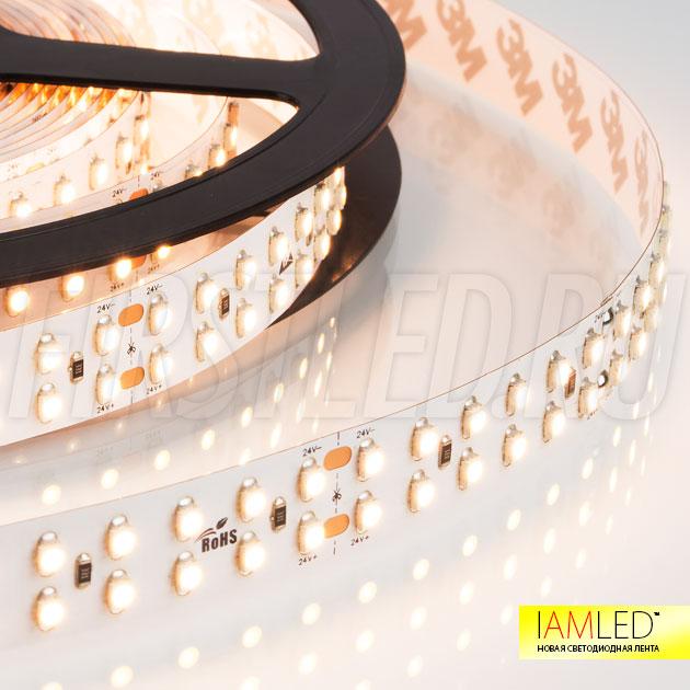 В светодиодной ленте IAMLED MONO 240 установлены светодиоды SMD 3528 (240 LED на 1 метр) обладающие яркостью в 8 Люмен на 1 светодиод