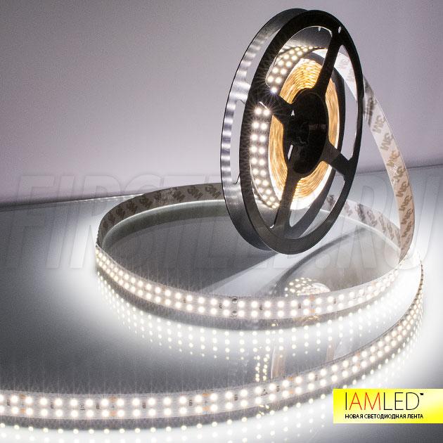 Одноцветная светодиодная лента IAMLED MONO 240 — холодный белый оттенок