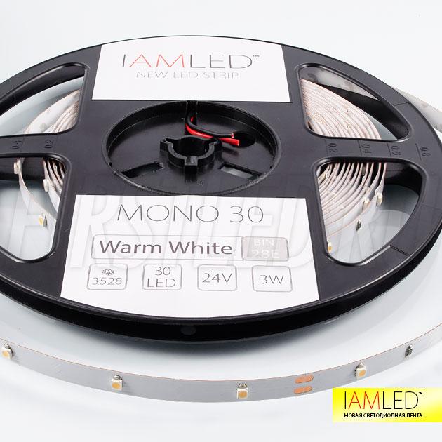 Светодиодная лента эконом класса IAMLED MONO 30