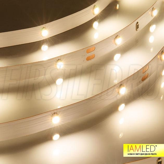 Светодиодная лента IAMLED MONO 30 теплого белого свечения