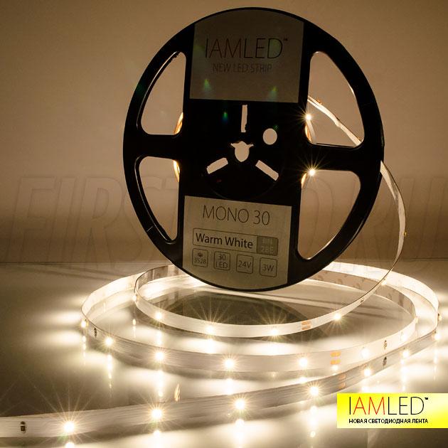 Декоративная светодиодная лента IAMLED MONO 30