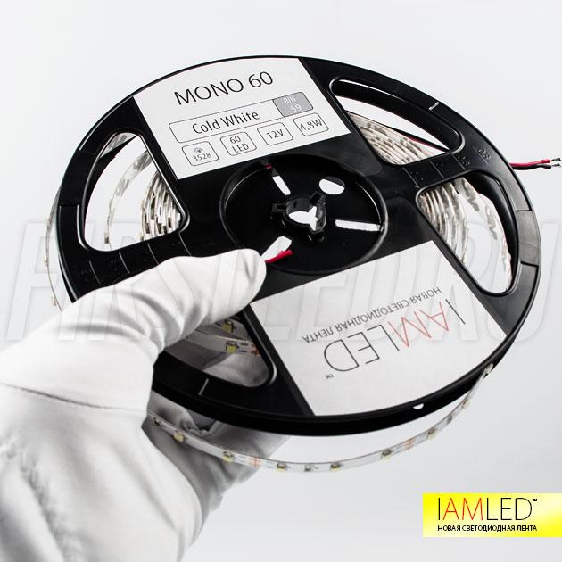 IAMLED MONO 60 — легко устанавливается в любую нишу и используется для декоративной подсветки