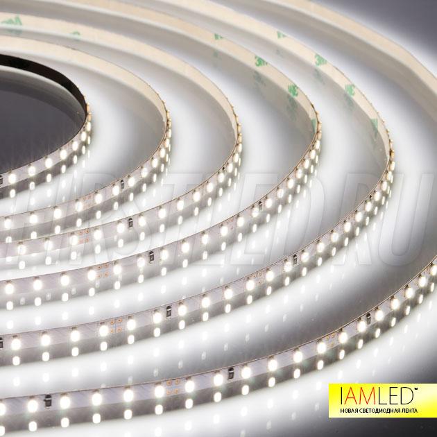 Одноцветная светодиодная лента IAMLED MONO MINI 120 — холодный белый оттенок