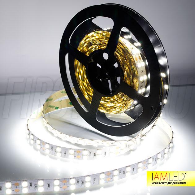 Представляем вам самую яркую светодиодную ленту IAMLED STEREO 120 — лента которая устанавливается в качестве основного освещения!