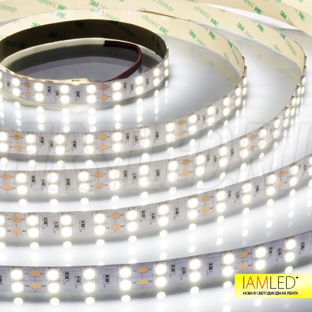 IAMLED STEREO 120 — холодный белый оттенок светодиодной ленты
