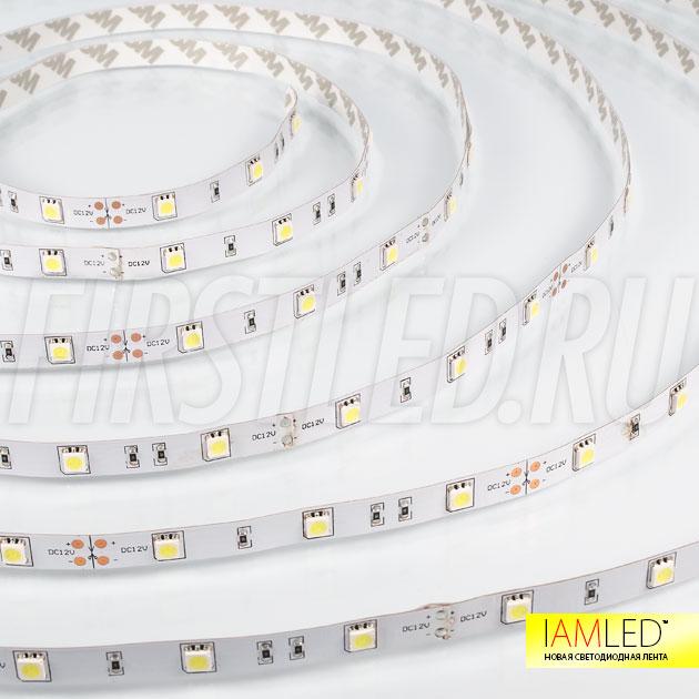 Светодиодная лента IAMLED STEREO 30 — это 30 светодиодов увеличенного размера 5050 на 1 метр