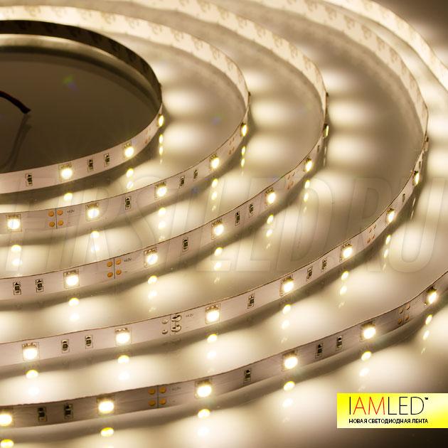 Светодиодная лента IAMLED STEREO 30 теплого белого свечения