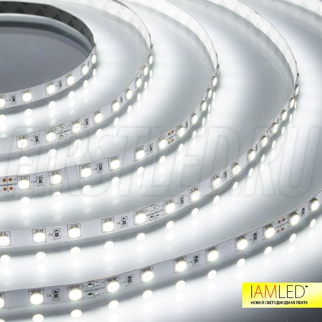 Равномерный и яркий свет — этими достоинствами обладает светодиодная лента IAMLED STEREO 60!