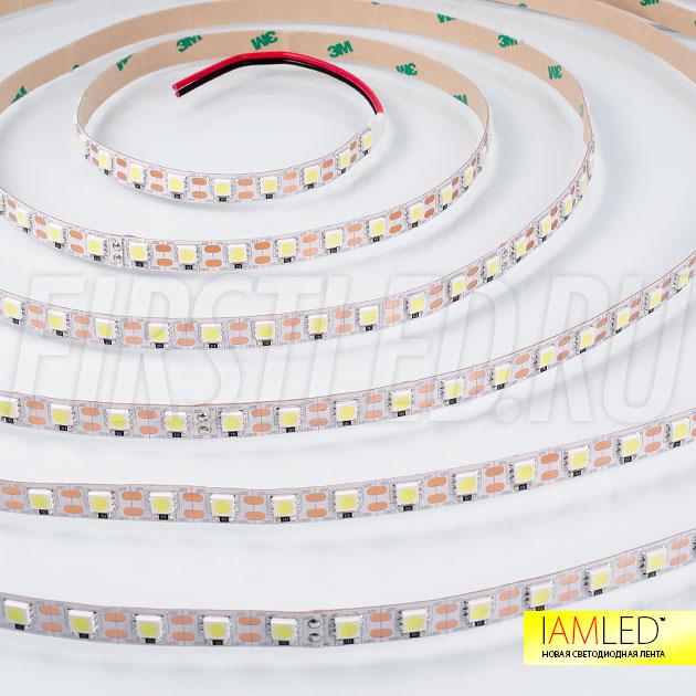 Светодиодная лента IAMLED STEREO 72 с возможностью деления на отрезки по одному светодиоду