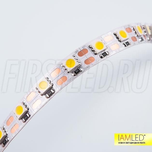 Компактная светодиодная лента с высокой светоотдачей — IAMLED STEREO 72
