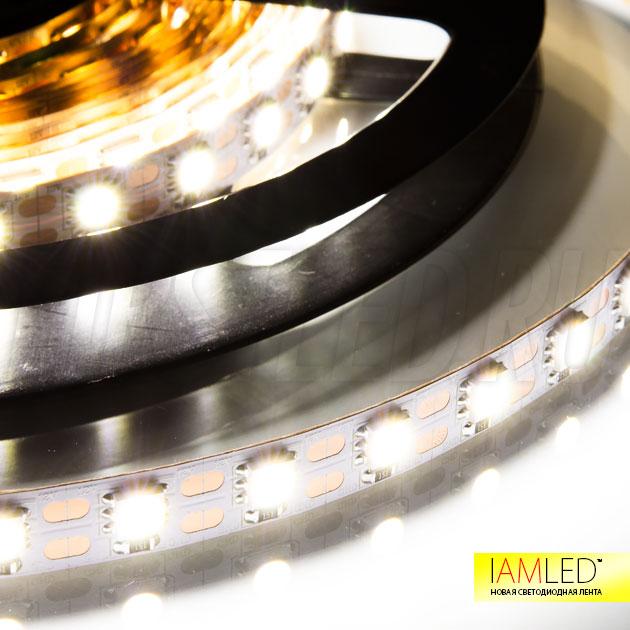 Одноцветная светодиодная лента IAMLED STEREO 72 холодного белого свечения