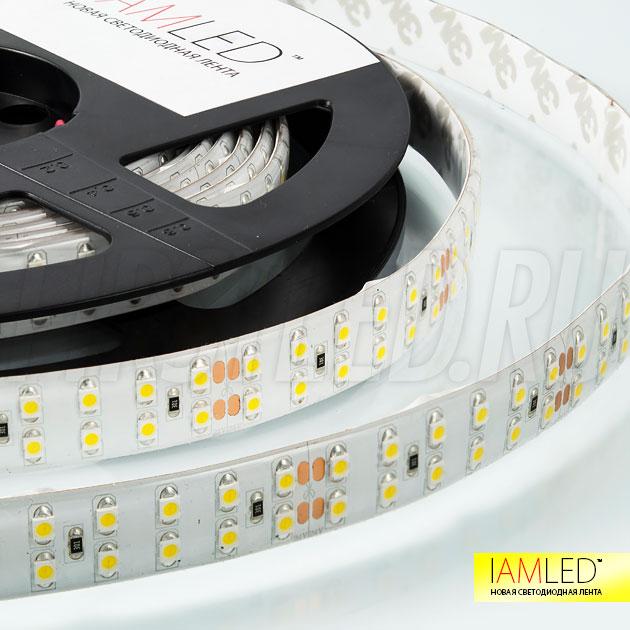 Влагозащищенная мультибелая лента IAMLED DOUBLE WHITE 240 (IP66) с силиконовым покрытием