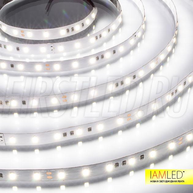 Качественная цветопередача 85 Ra достигается благодаря современным светодиодам установленным на светодиодную ленту IAMLED ULTRA 60