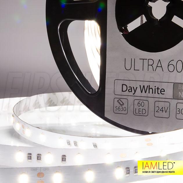 Дневной белый оттенок светодиодной ленты IAMLED ULTRA 60