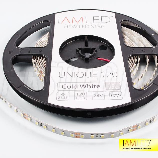 Профессиональная светодиодная лента в компактных размерах IAMLED UNIQUE 120