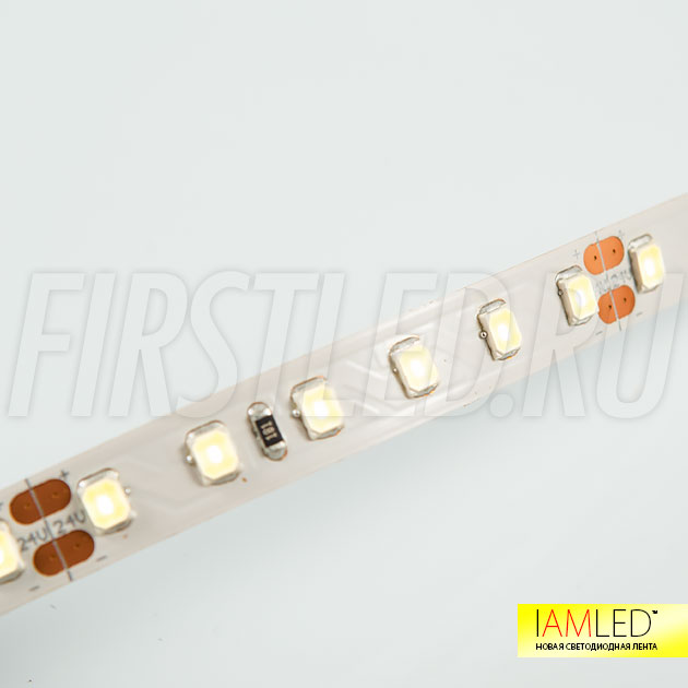 Оптимальная яркость для светодиодов SMD 2835 является отличительной чертой светодиодной ленты IAMLED UNIQUE 120