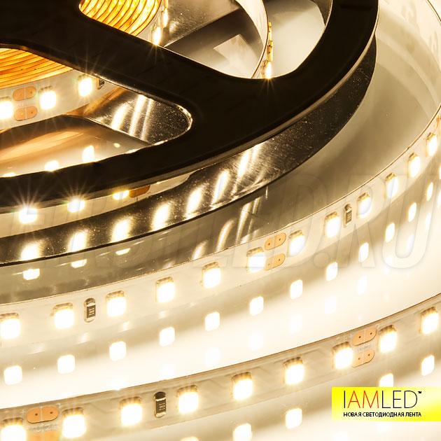 Светодиодная лента IAMLED UNIQUE 120 — это видно сразу по освещению. Все цвета на своем месте (CRI 94 Ra)