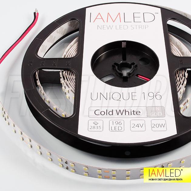 Профессиональная светодиодная лента IAMLED UNIQUE 196 для равномерной подсветки