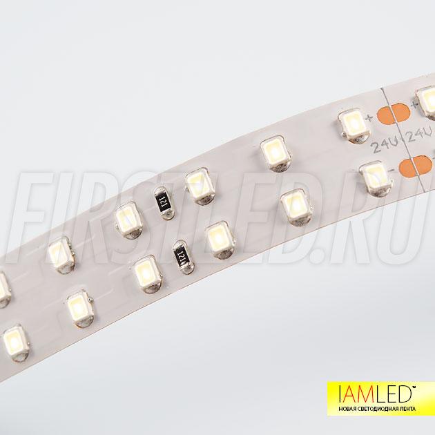 Компактные светодиоды SMD 2835 с высоким индексом цветопередачи CRI — это светодиодная лента IAMLED UNIQUE 196