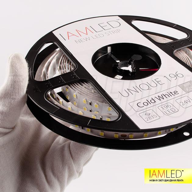 Повышенная цветопередача CRI 94 Ra, светодиодная лента IAMLED UNIQUE 196