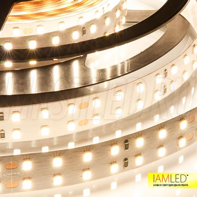Равномерная подсветка помещения без использования дополнительных источников света — это новая светодиодная лента IAMLED UNIQUE 196