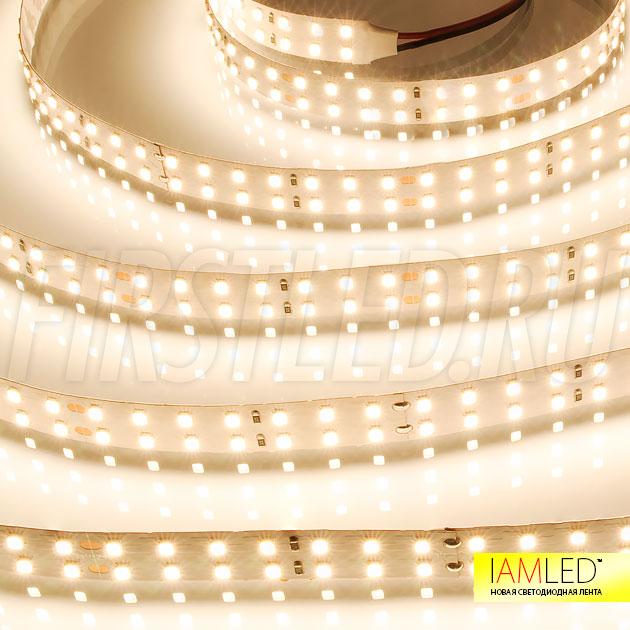 Яркость и комфорт для глаз без лишних теней и бликов — светодиодная лента IAMLED UNIQUE 196