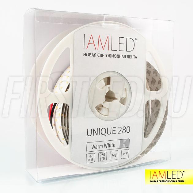 Профессиональная светодиодная лента высокой цветопередачи IAMLED UNIQUE 280 (2835, 700 LED)