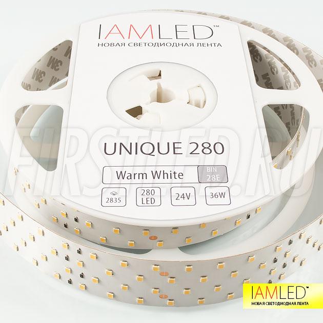 Для новой профессиональной светодиодной ленты IAMLED UNIQUE 280 будущее давно наступило