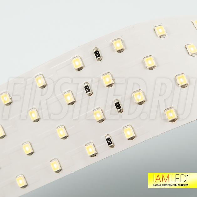 700 светодиодов SMD 2835 установлено на светодиодной ленте с высокой цветопередачей IAMLED UNIQUE 280