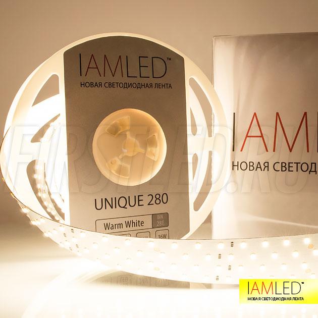 Установив светодиодную ленту IAMLED UNIQUE 280, Вы получаете все цвета в их естественном, полностью освещенном виде