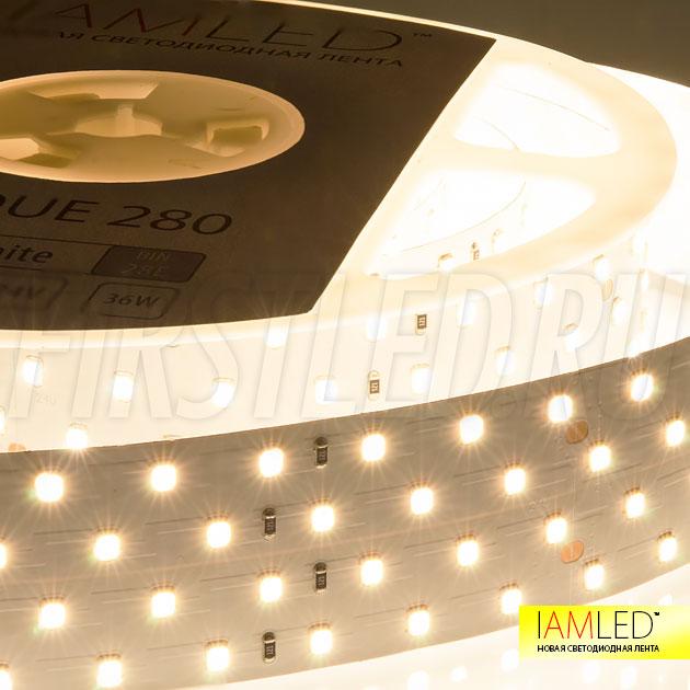 Только представьте, цветопередача составляет 94 Ra для светодиодной ленты IAMLED UNIQUE 280