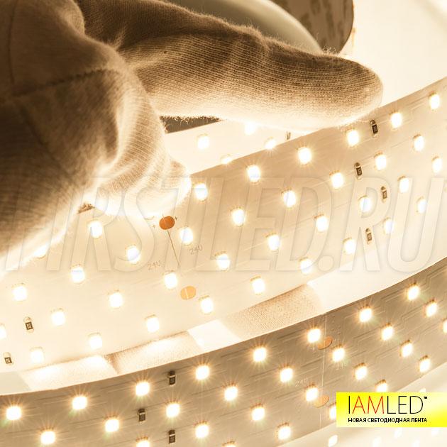 Не правда ли профессионально? Это светодиодная лента для подсветки потолка IAMLED UNIQUE 280