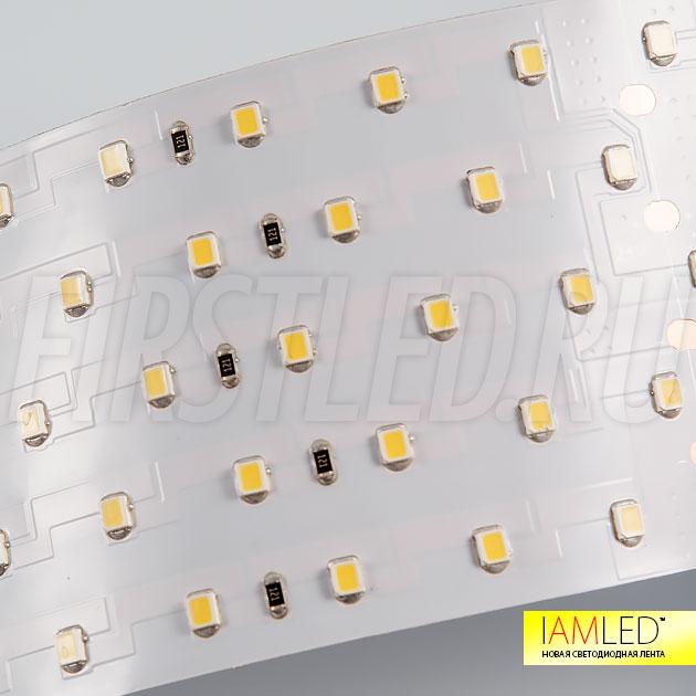 Светодиоды с самыми современными характеристиками SMD 2835 — светодиодная лента IAMLED UNIQUE 350