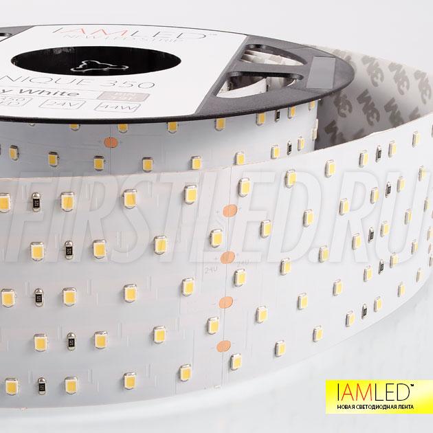 Профессиональная светодионая лента IAMLED UNIQUE 350 устанавливается в качестве основного освещения, идеальное применение вместе с профилем TALUM WP74.77