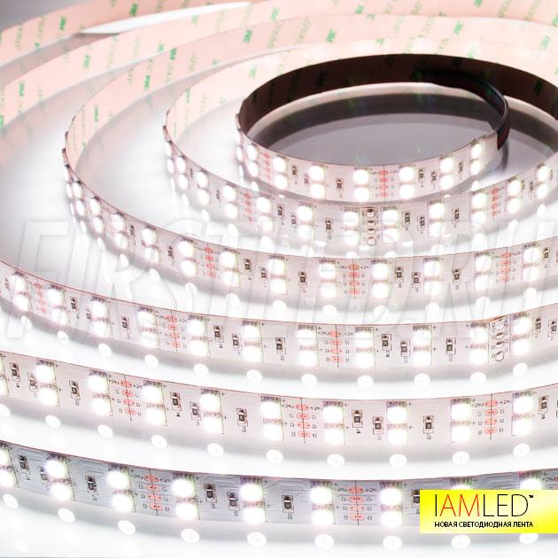 Многоцветная светодиодная лента IAMLED RGB 120 — холодный белый свет!