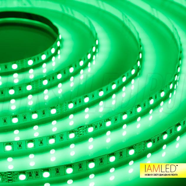 Подсветка как раз для вас — Светодиодная лента IAMLED RGB 60 (зеленый цвет)