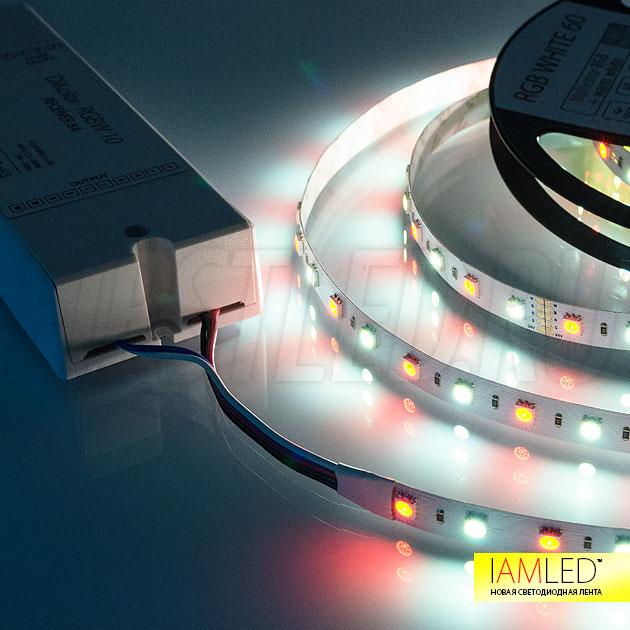 С помощью контроллера управления подсветкой можно выбирать любой оттенок