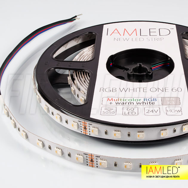 Мультицветная светодиодная лента IAMLED RGB WHITE ONE 60 (Rgb + белый в одном светодиоде)